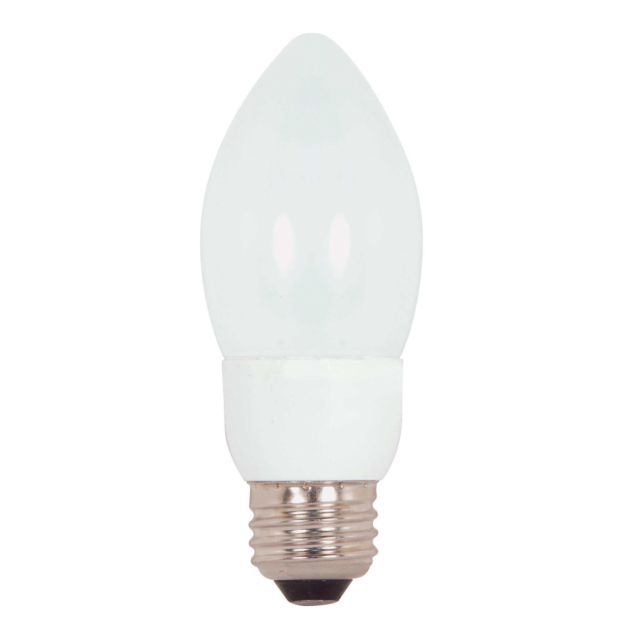7 Watt 2700K Compact Fluorescent Light Bulb