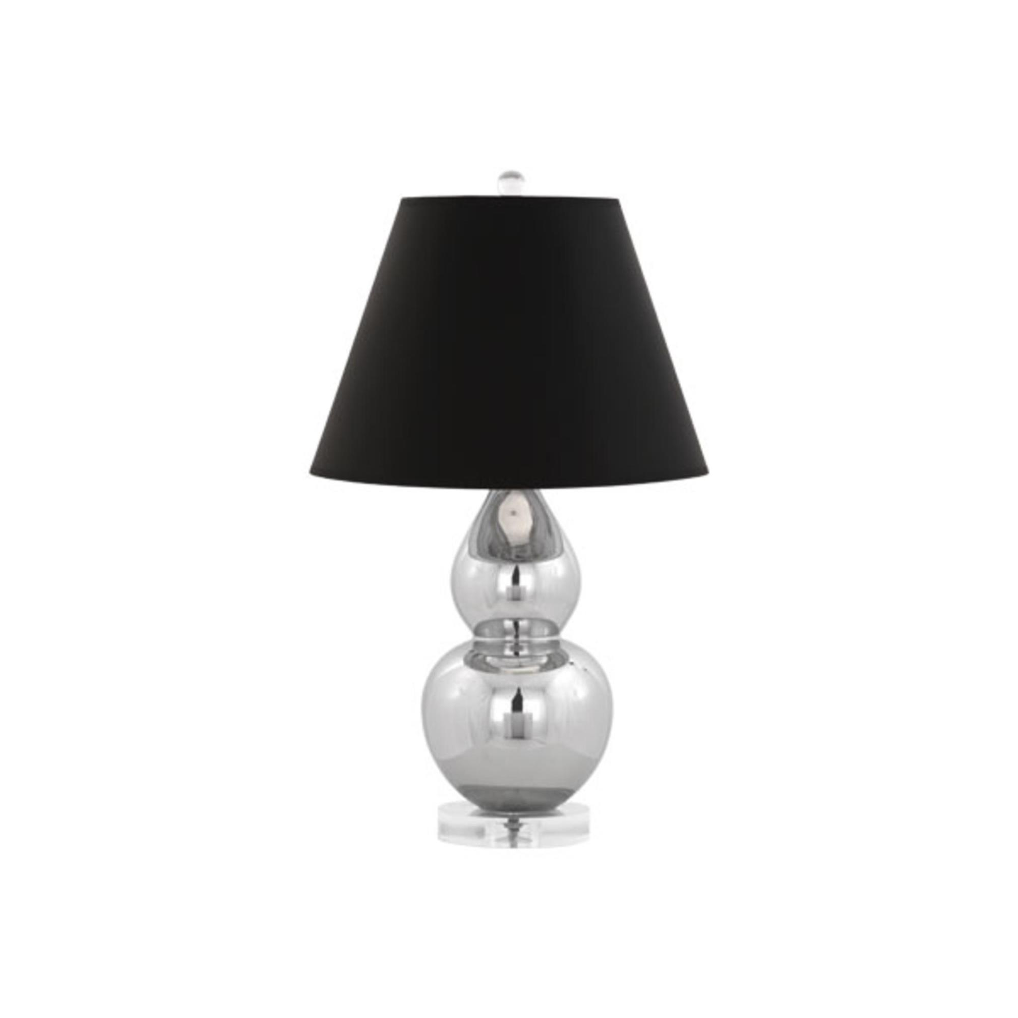 Mercury Double Gourd 22 Inch Table Lamp