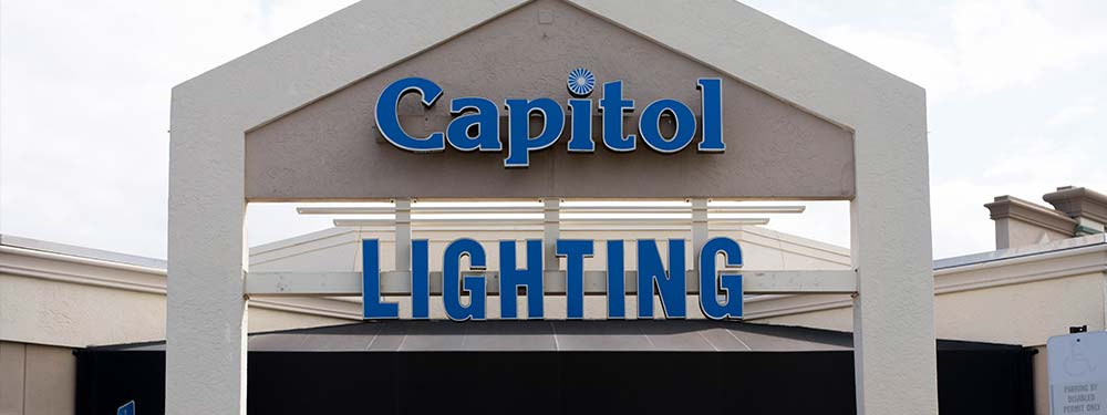 Designer Lights And Outdoor Lighting At Capitol In